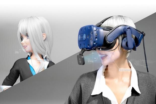 HTC Vive boří omezení virtuální komunikace pomocí snímání tváře