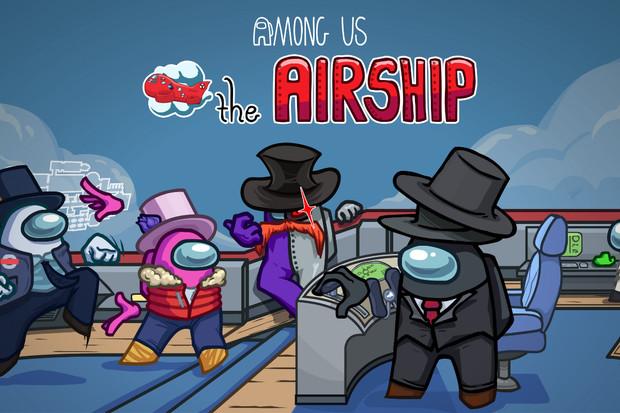 Nová mapa The Airship bude ve hře Among Us dostupná již 31. března