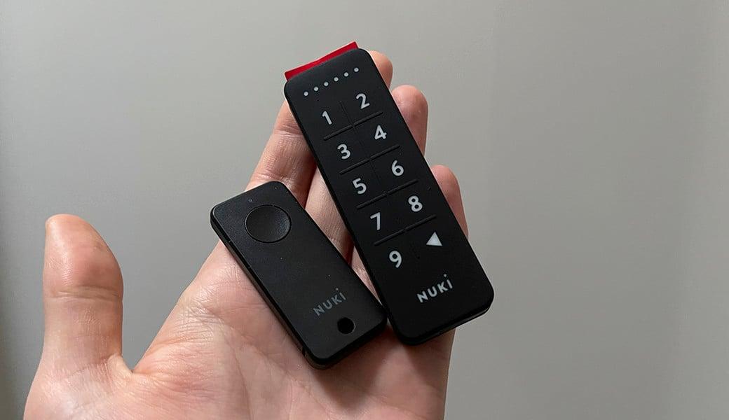Nuki FOB, Keypad a Power Pack