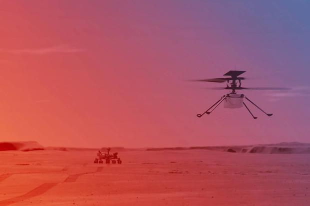 Helikoptéra Ingenuity se chystá na svůj první let