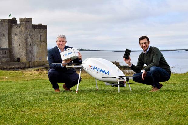 Samsung v Irsku využívá donáškové drony k doručení elektroniky