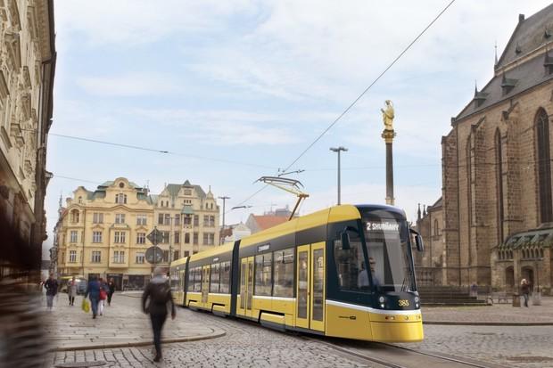 V Plzni bude jezdit první chytrá tramvaj s 5G připojením pro plynulejší dopravu