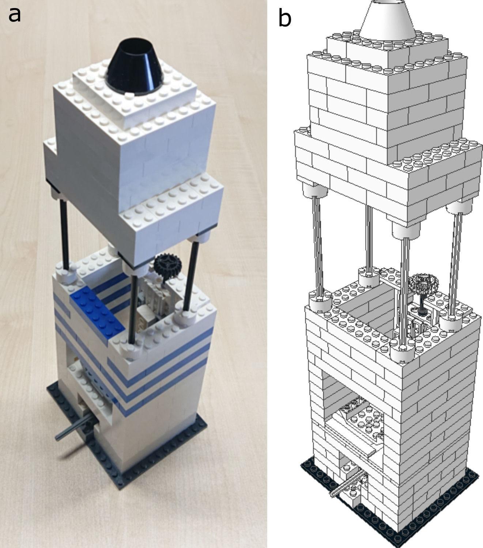 Lego mikroskop