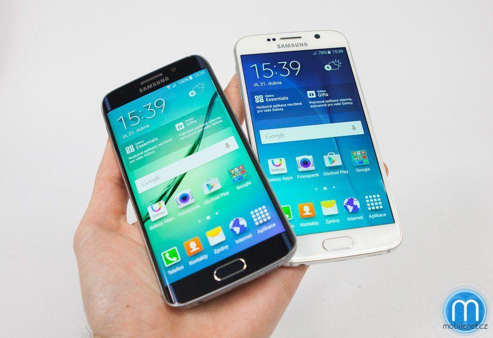 Samsung Galaxy S6 a S6 Edge