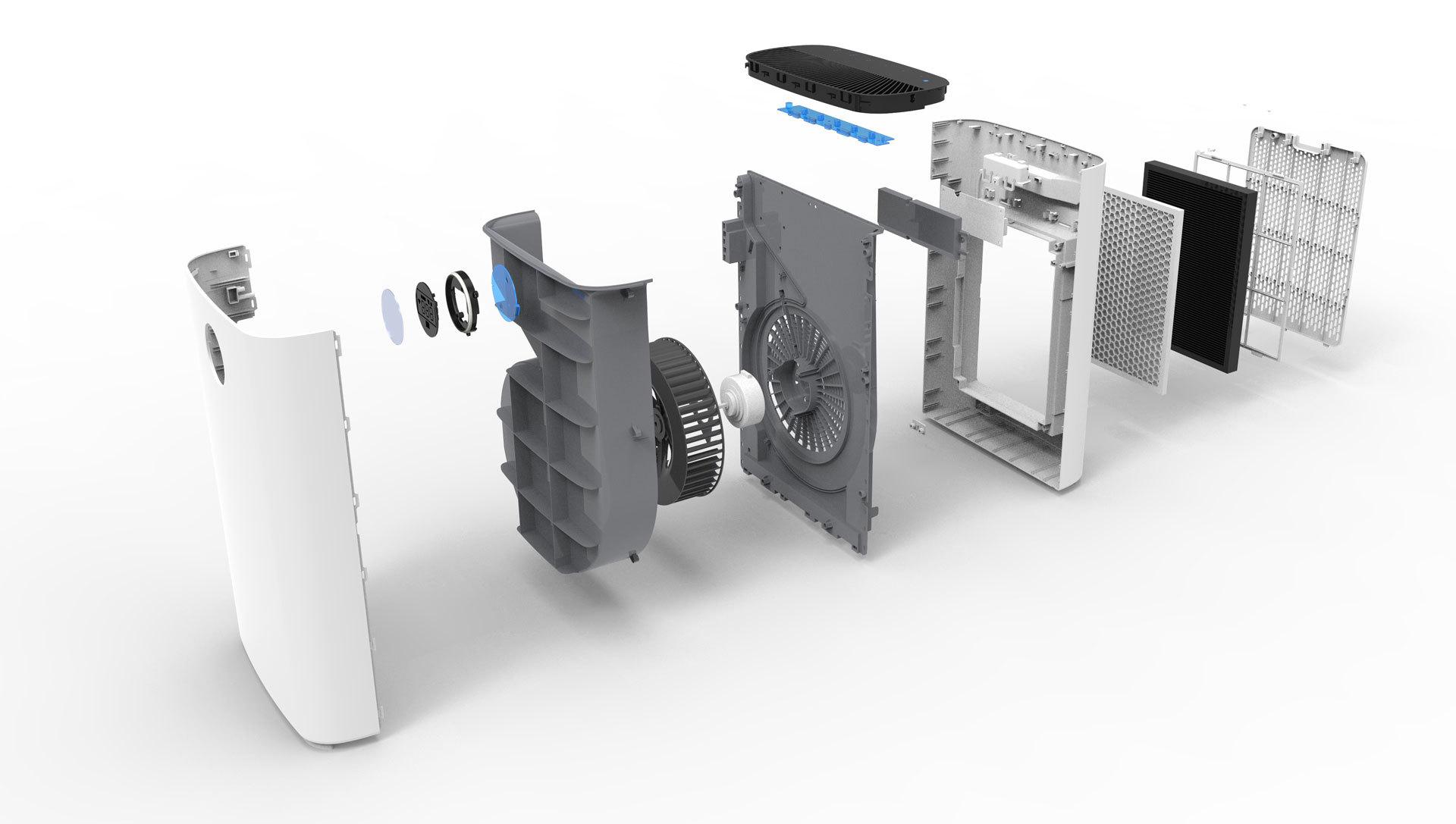 Tesla Smart Air Purifier Pro L