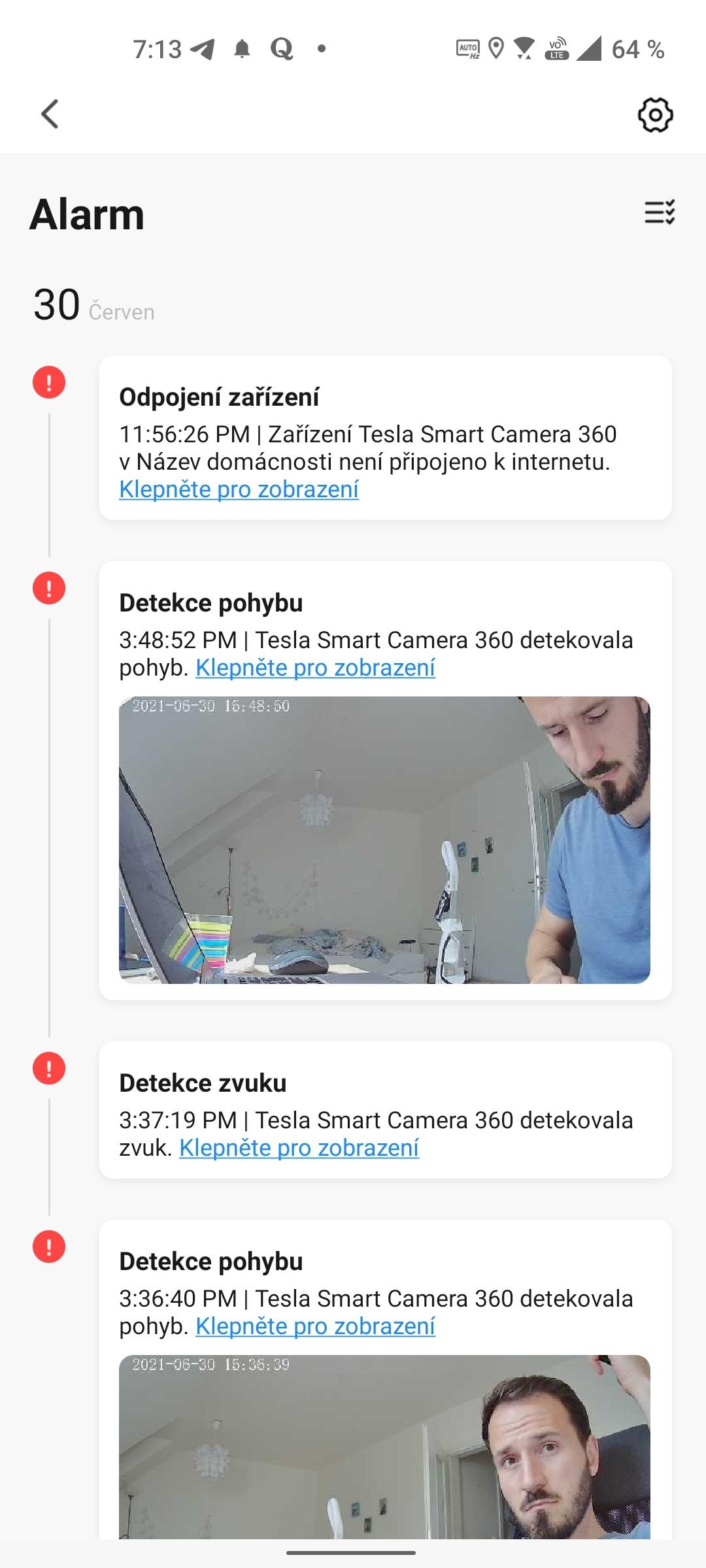 Tesla Smart Camera 360